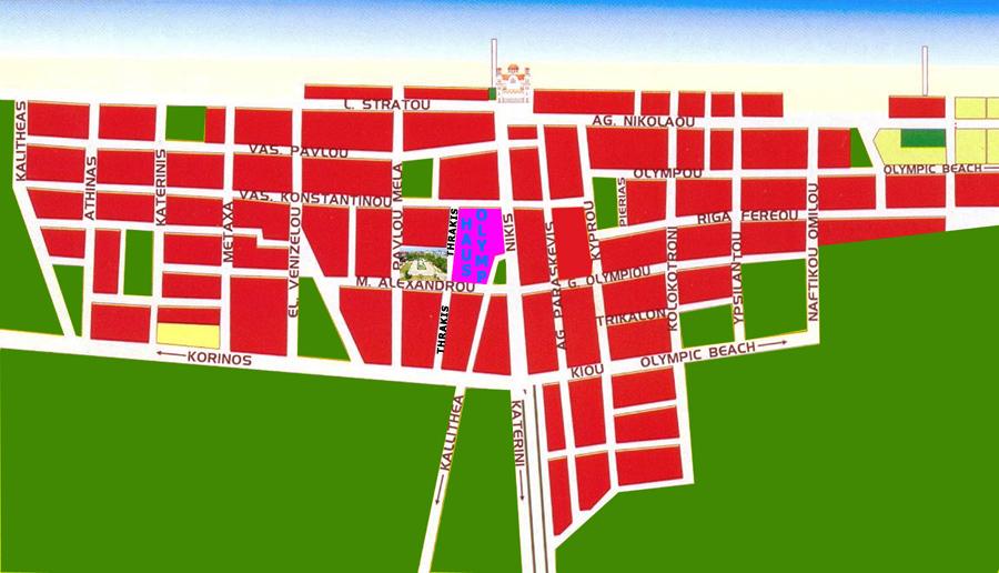 Map of Paralia
